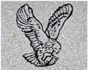 st john eagle winged