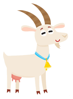 A Goat in a Landfill