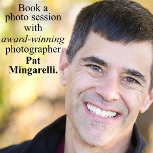 Book a photo session with Pat Mingarelli