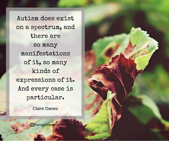 autism quotes claire danes