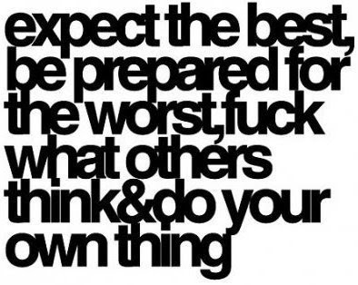 expect the best quotes