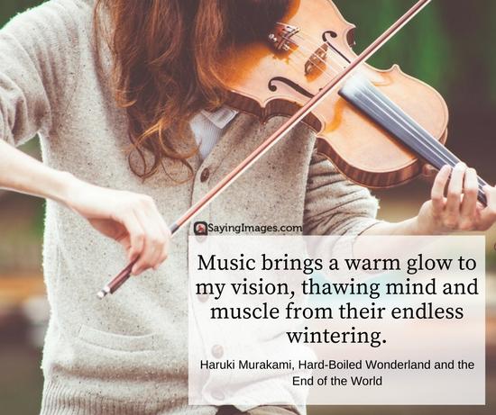 haruki quote music