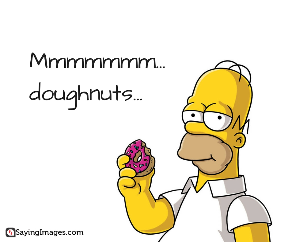 homer simpson donut quotes