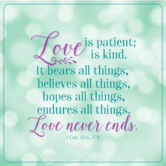 Love Is Patient Quote | Love Is Patient Word Porn Quotes Love Quotes Life Quotes