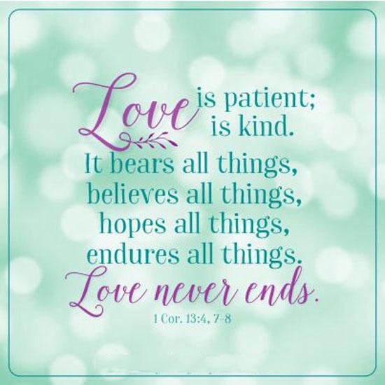 Love Is Patient Quote Adorable Love Is Patient Word Porn Quotes Love Quotes Life Quotes