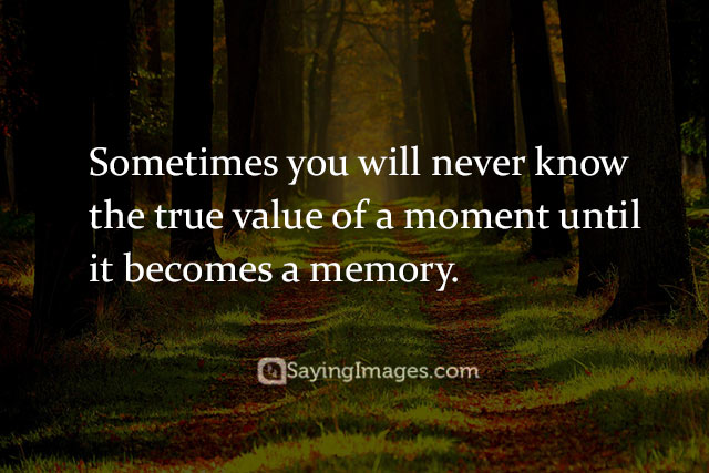 memory quotes images