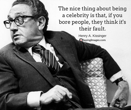 quotes by h kissinger