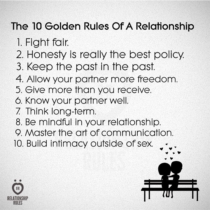 7 Rules Of Life Quote Interesting Relationship Rules  Word Quotes Love Quotes Life Quotes