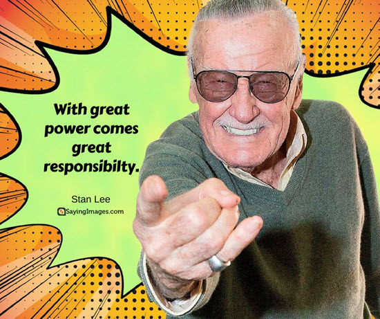 stan lee spiderman quote