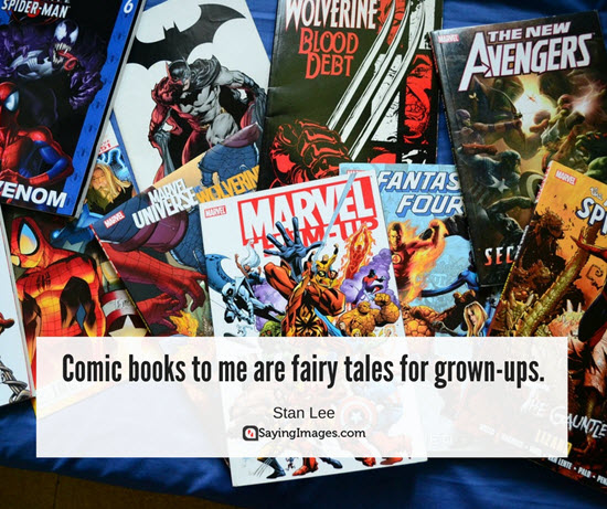 stan lee quotes comics