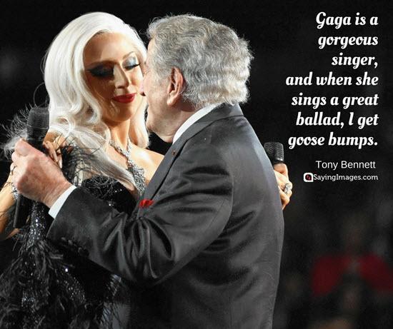 lady gaga tony bennett quotes