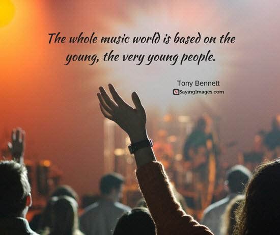 tony bennett music quote