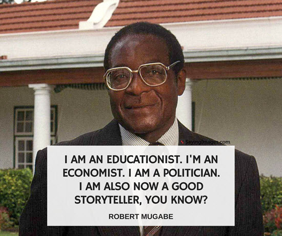 quotes by president mugabe