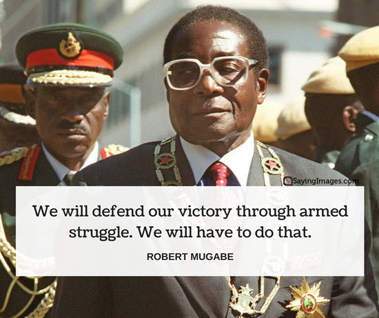 robert mugabes quotes