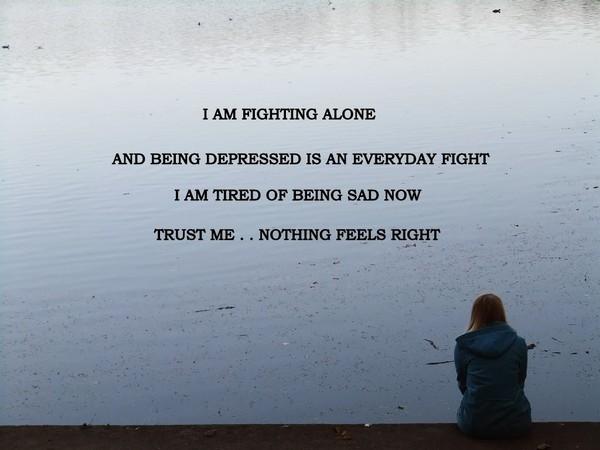 Alone Sayings