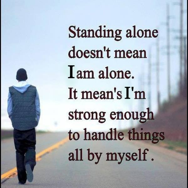 Being Alone Quotes Tumblr