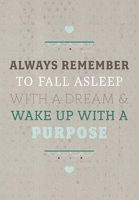 purpose goodnight quotes