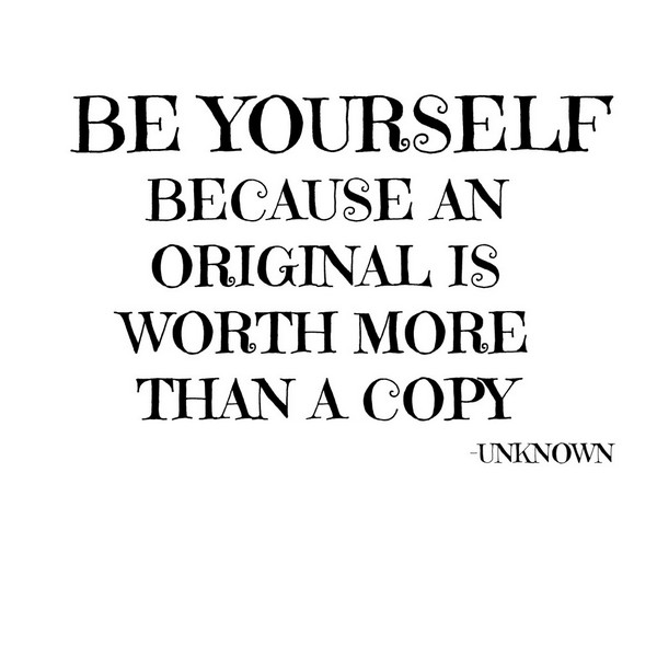 Unique I Love Myself Quotes