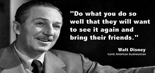 Bring Their Friends Walt Disney Quotes