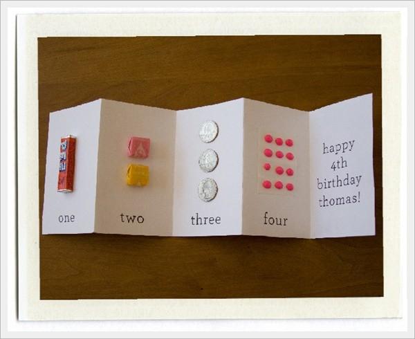 Cute Homemade Birthday Card Ideas For Kids