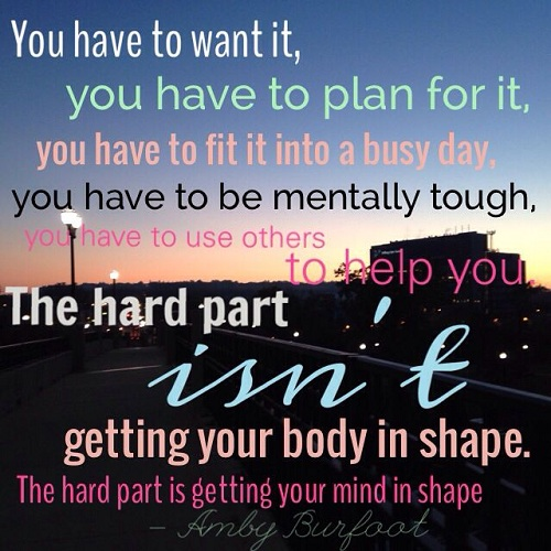 You Have to Want it Gym Quotes