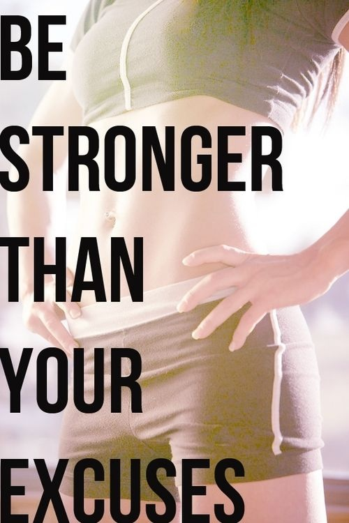 Be Stronger Gym Quotes