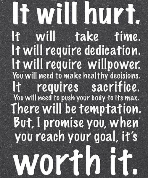 It Will Hurt Gym Quotes