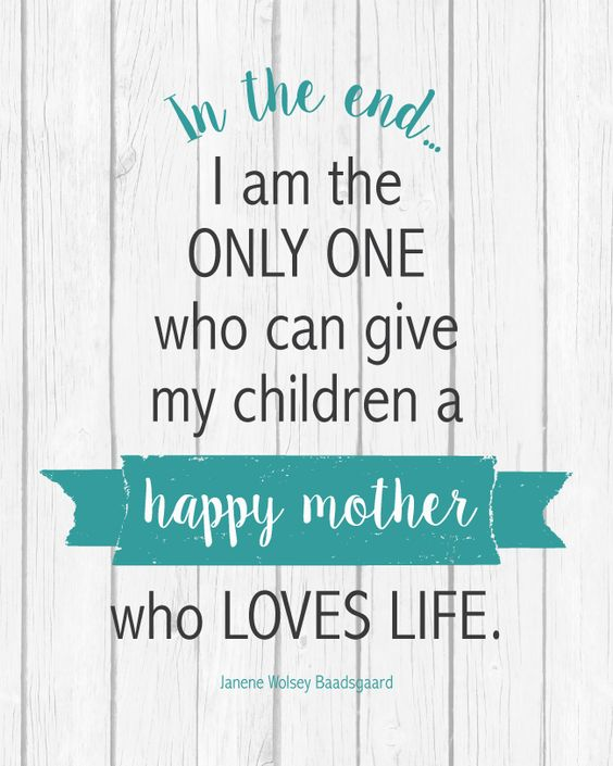 Love Life Mother Quotes