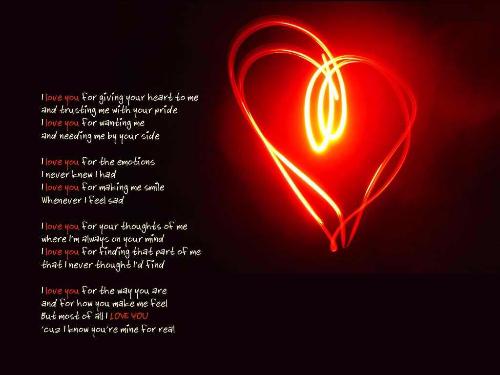 Inspiring Love Poems