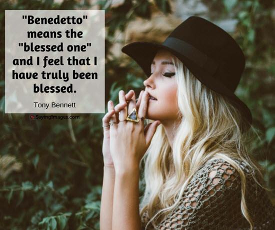 quote tony bennett