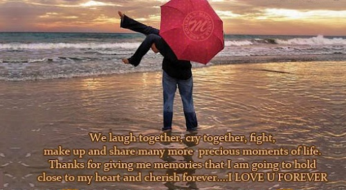Laugh Together Love Quotes for Husband
