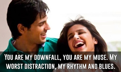 You are my Downfall Love Quotes for Her