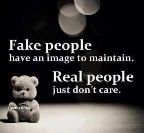 true friends and fake friends