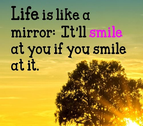 Like a Mirror Lovely Quotes