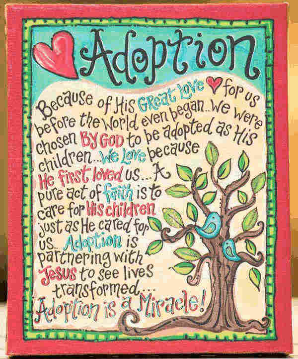 Quotes about family and adoption.