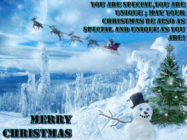 110 merry christmas greetings sayings and phrases word porn you are special you are unique may your christmas be also as special and unique as you are m4hsunfo