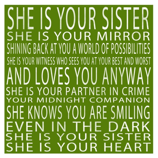 Your Mirror Sister Quotes