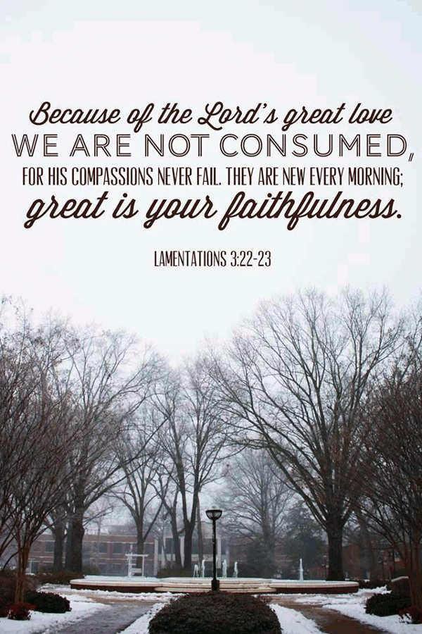 good morning love quotes faithfulness