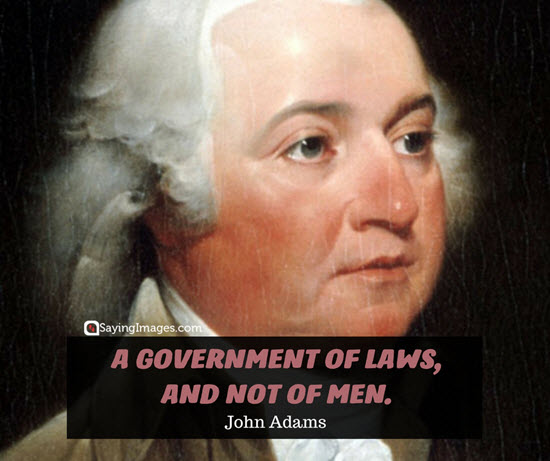 john adams quotes government