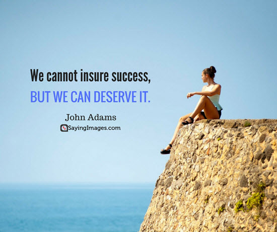 john adams quotes success