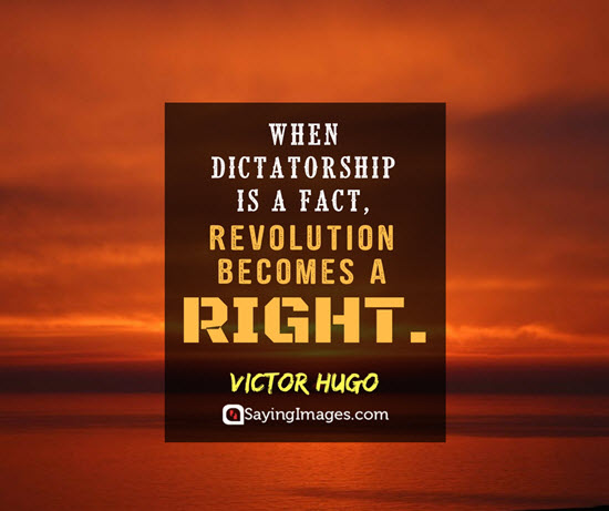 victor hugo revolution quotes