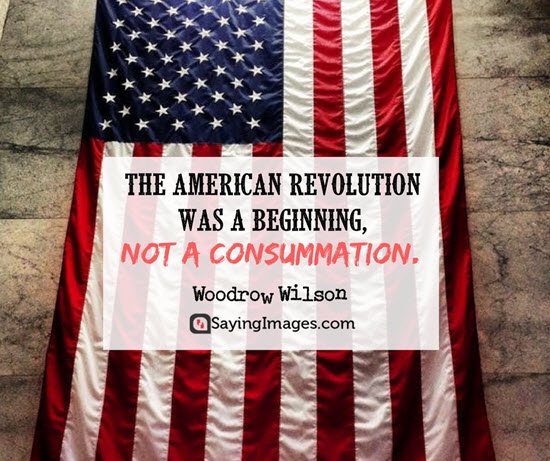 woodrow wilson revolution quotes