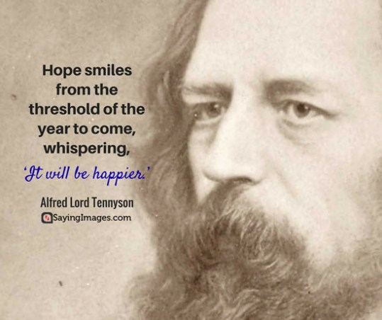 alfred tennyson new year quotes