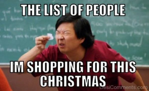 the list of people funny christmas memes
