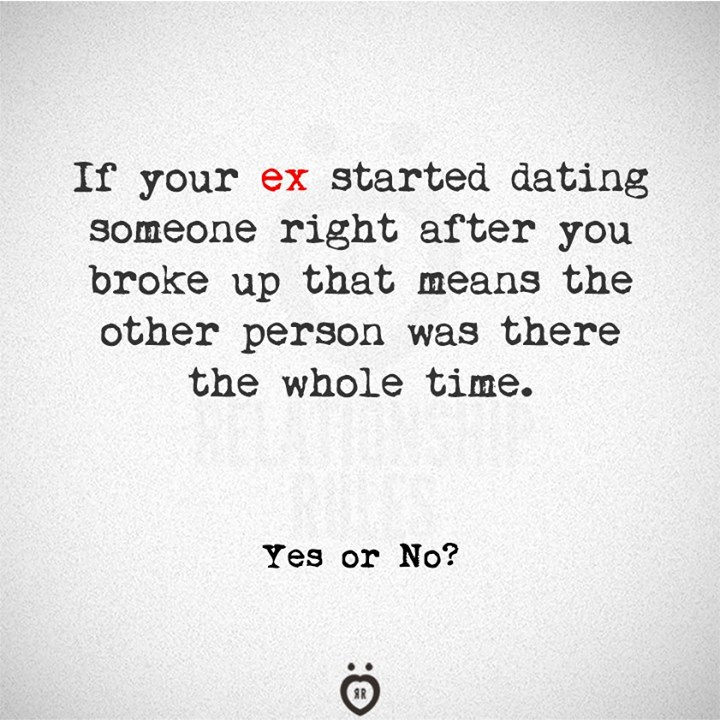 Quotes about not dating your ex