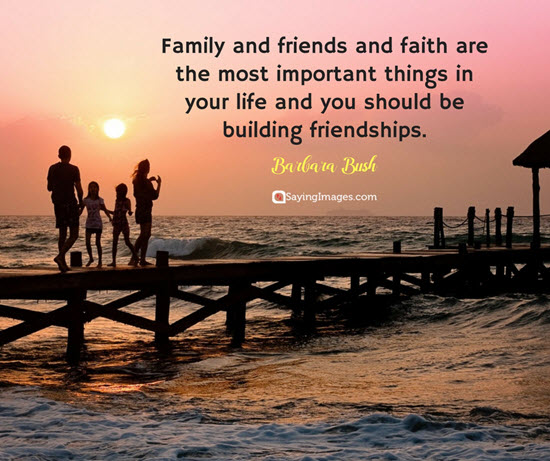 barbara bush family and friends quotes