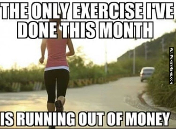 Exercise Memes You Can Totally Relate To