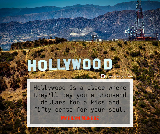 marilyn monroe hollywood quotes