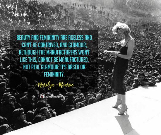 marilyn monroe feminity quotes