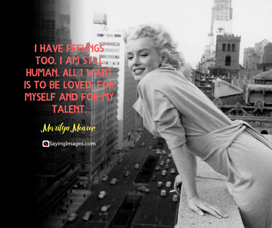 marilyn monroe talent quotes